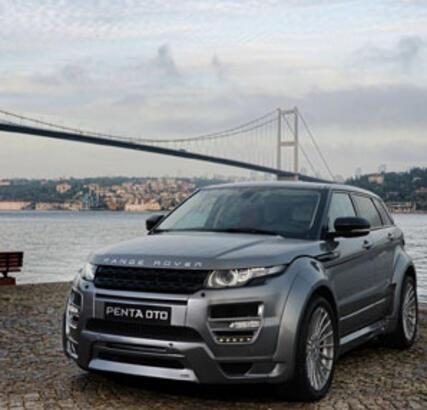 HAMANN Range Rover Evoque İstanbul'un Tozunu Attırdı