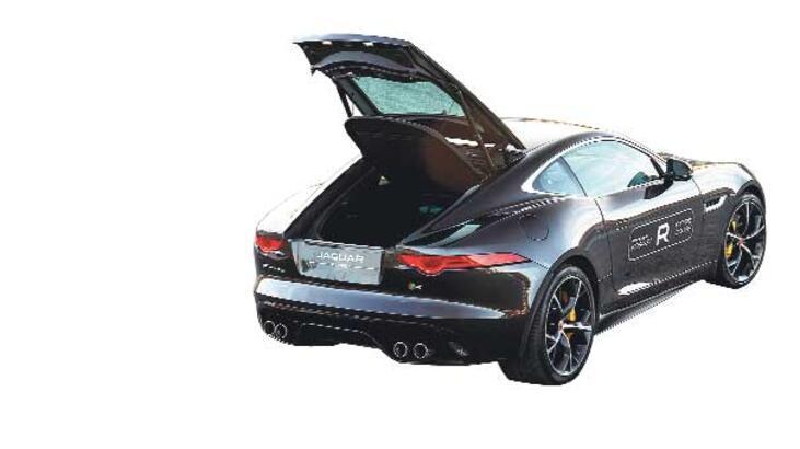 Jaguar'ın yoldaki en vahşi türü!..