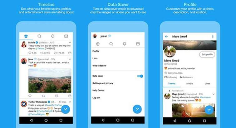 Twitter Lite'ın Android uygulaması Filipinler'de test edilmeye başlandı