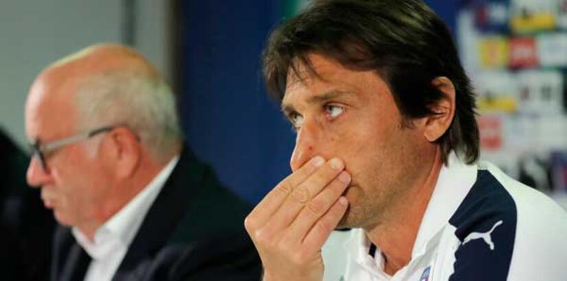 Conte'nin büyük üzüntüsü