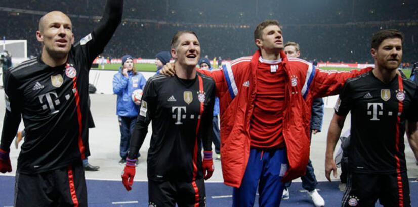 Bayern Münih zirvede çok rahat...