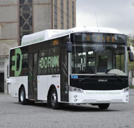 Türkiye'nin ilk elektrikli otobüsü yollarda!