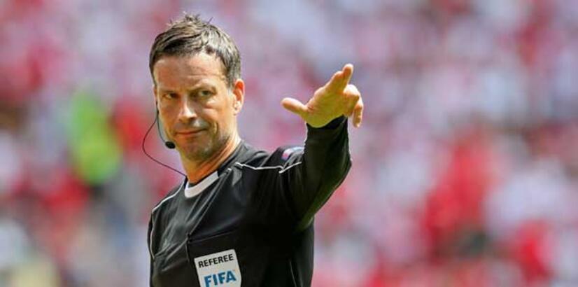 Fransa-Portekiz finali Clattenburg'un