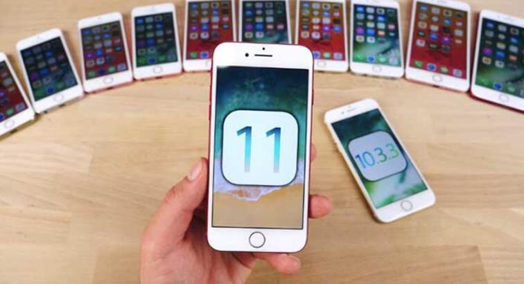 iOS 11'in kullanım oranları iOS 10'un gerisinde kaldı