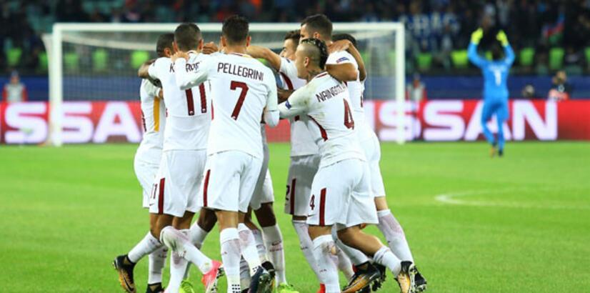 Karabağ - Roma: 1-2