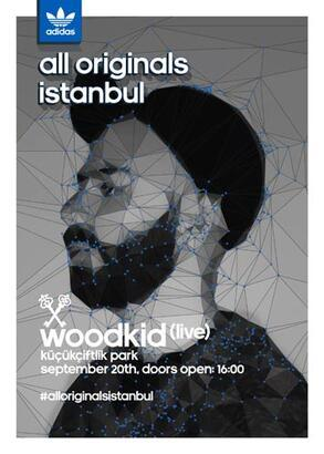 Woodkid adidas all Originals İstanbul partisinde!