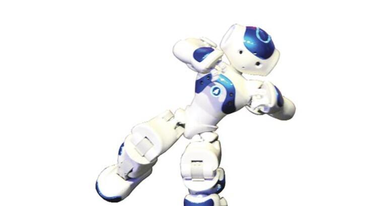 İnsansı robottan zeybek şov!