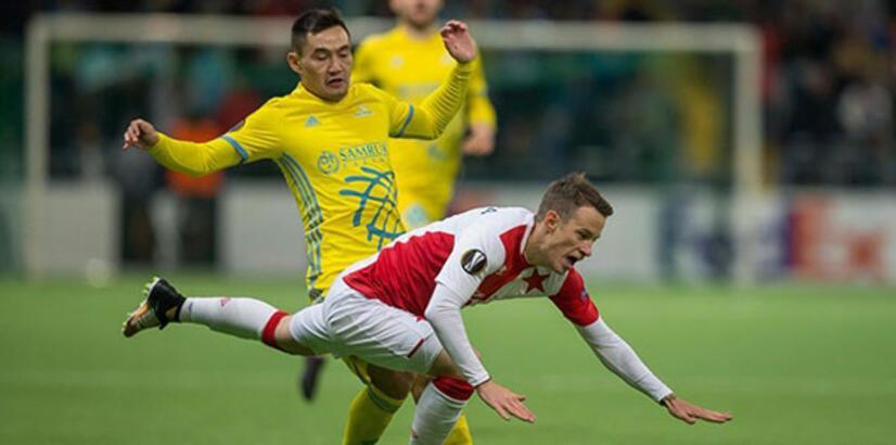 Astana-Slavia Prag: 1-1