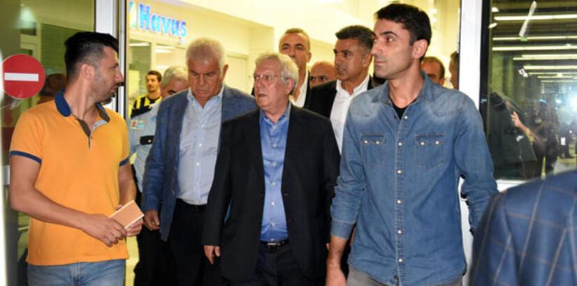 İzmir'de Aziz Yıldırım'a şok tezahürat!