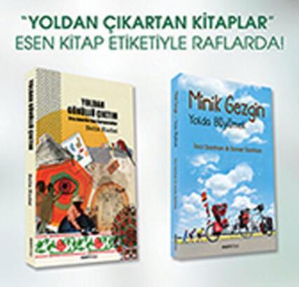 Esen Kitap'ın Seyahat Kitapları Serisi yola çıktı!