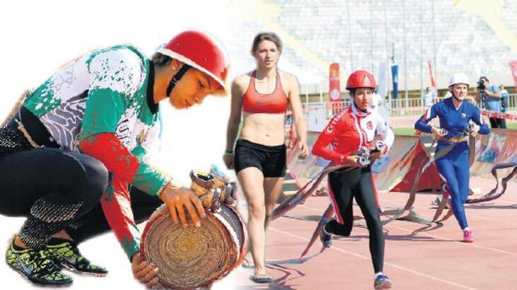 Dünyanın itfaiyecisi İzmir'de  kıyasıya yarışıyor