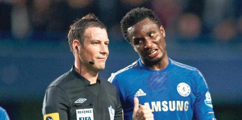Chelseali Mikel'e iftiradan 3 maç