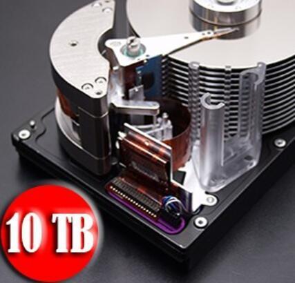 Dünyanın İlk 10 TB'lık Sabit Diski Üretildi!