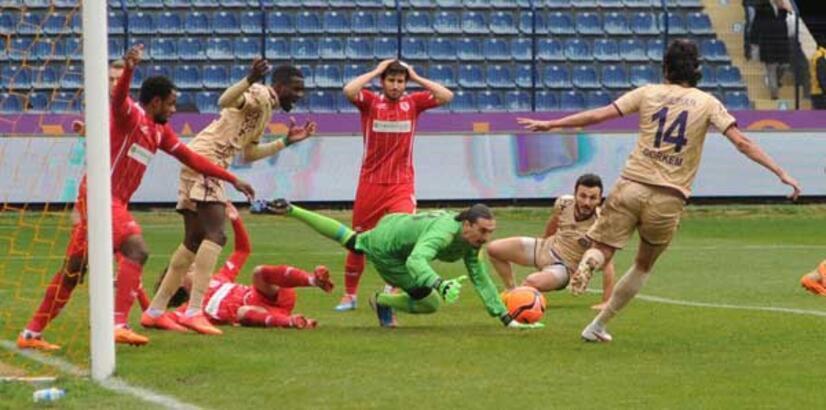 Osmanlıspor - Samsunspor: 0-0