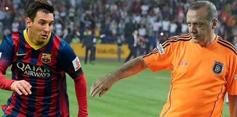 Messi ile Erdoğan'ı izlemenin fiyatı 49 TL