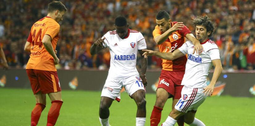 Galatasaray - Kardemir Karabükspor: 3-2 (İşte maçın özeti)