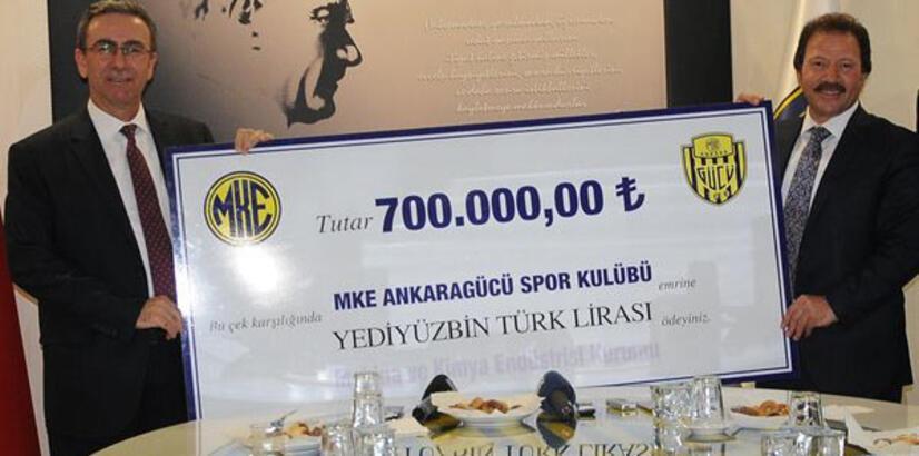 MKE'den sponsorluk açıklaması