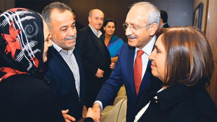 Kılıçdaroğlu, Gezi aileleriyle buluştu