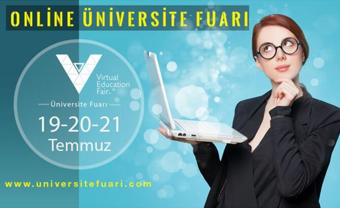 Türkiye'nin ilk ve tek online üniversite tercih fuarı başlıyor!