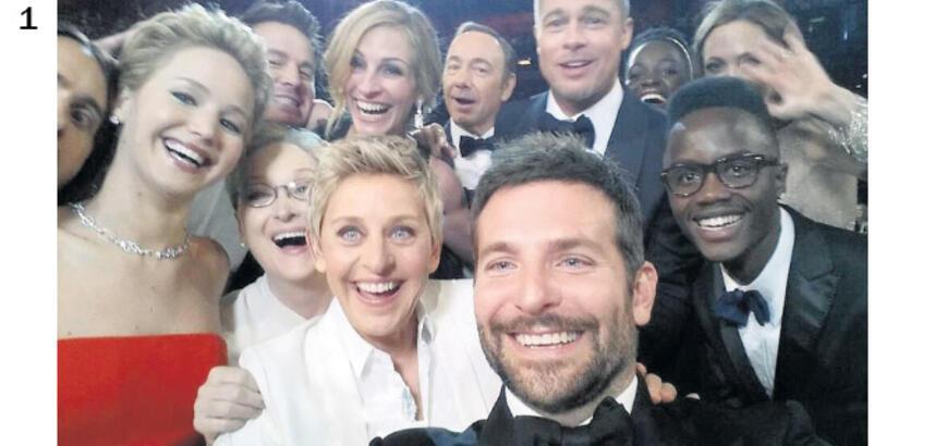 Selfie'lerle yaşıyoruz