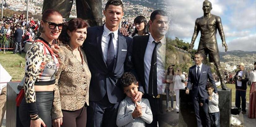 Cristiano Ronaldo'nun heykeli dikildi Ronaldo'nun kariyeri nasıl gelişti