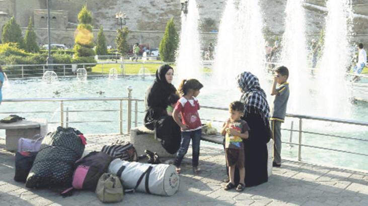 Türkmen köyleri tek  tek IŞİD'e geçiyor