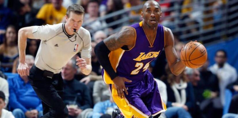 36'lık Kobe Bryant'tan triple double!