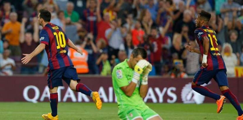 Barcelona gol yemeyi unuttu!