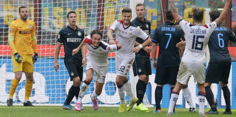 Inter evinde kayboldu ! 4-1