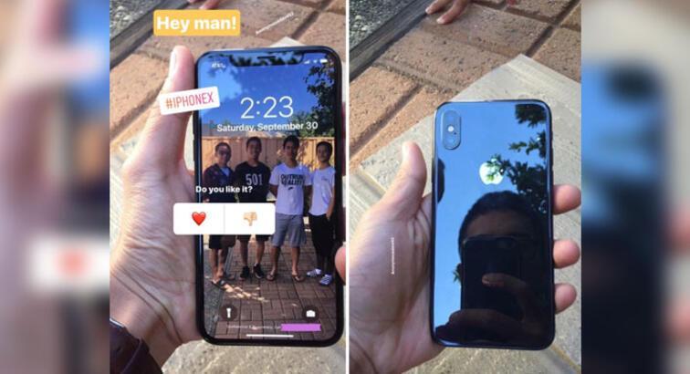 iPhone X'in günlük hayatta çekilmiş görüntüleri internete sızdı