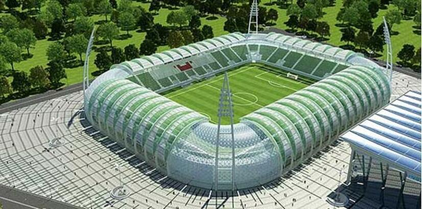 Akhisar Arena'nın temeli atıldı