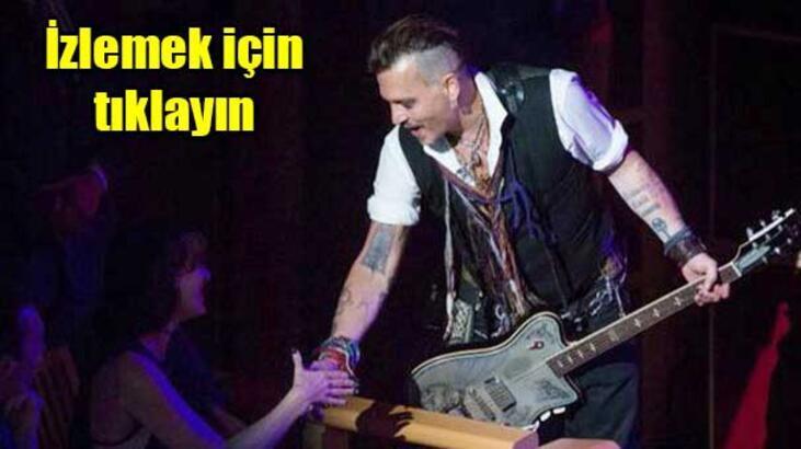 Johnny Depp sözleri unuttu!