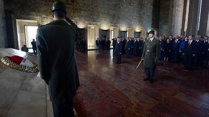 Erdoğan Anıtkabir'deki törenlere katılmadı