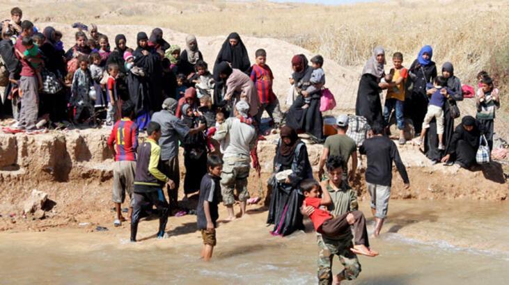 'IŞİD Irak'ta 5 milyon kişinin evini terk etmesine neden oldu'
