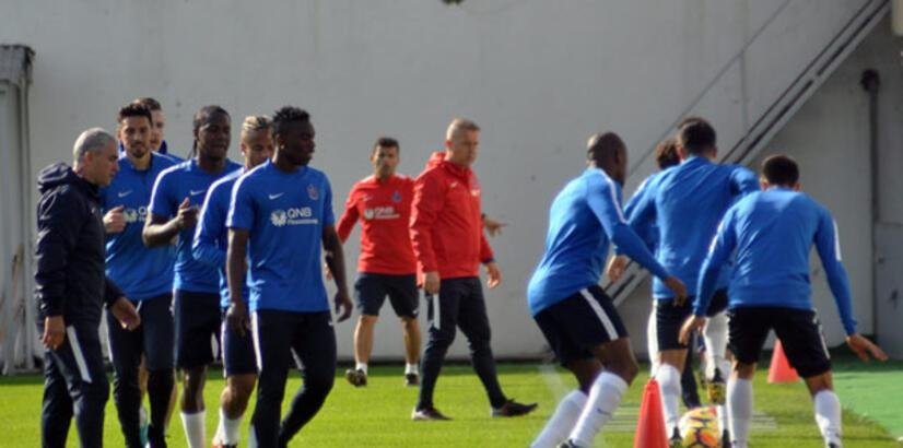 Trabzonspor'da Burak ve Onazi geri döndü