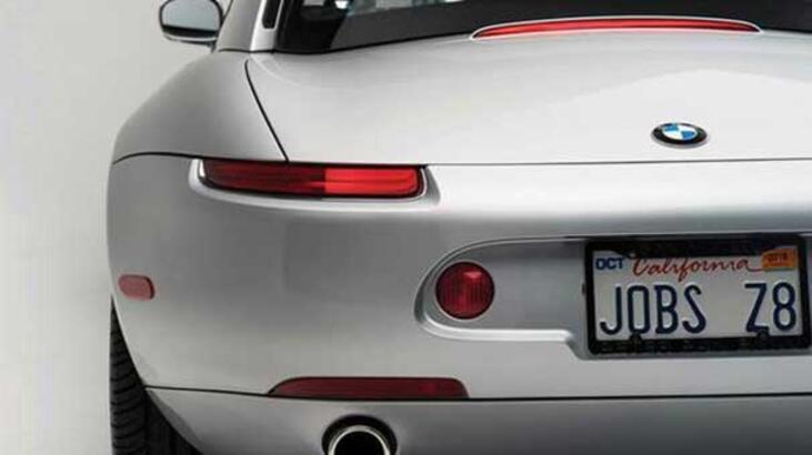 Steve Jobs'ın otomobili satışa çıkıyor
