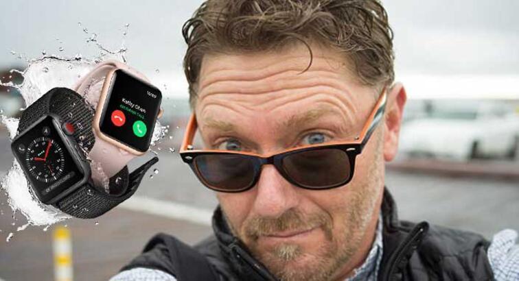Apple Watch Series 3 sörfçü adamı köpek balığı saldırısından kurtardı