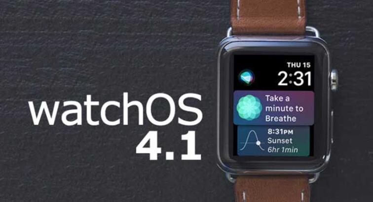 watchOS 4.1 güncellemesi çıktı! watchOS 4.1 ile hangi yenilikler geliyor?