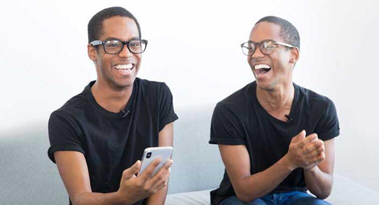 iPhone X'in Face ID'sini tek yumurta ikizleri test etti! Peki Face ID testten geçebildi mi?