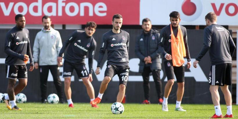 Beşitaş'ta Porto maçı hazırlıkları başladı
