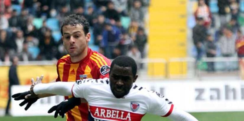 Kayserisporlu Bobo, kendi gol rekorunu kırdı