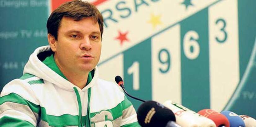 Bursaspor'a, 50 yılda 44 teknik direktör