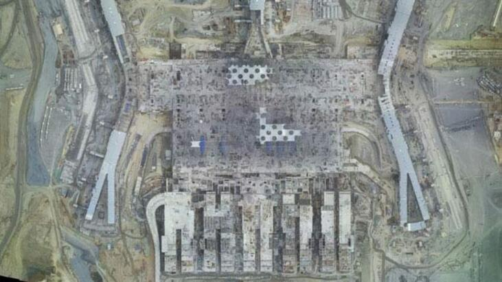 3. Havalimanı inşaatının yıllar içinde değişimi uzaydan görüntülendi