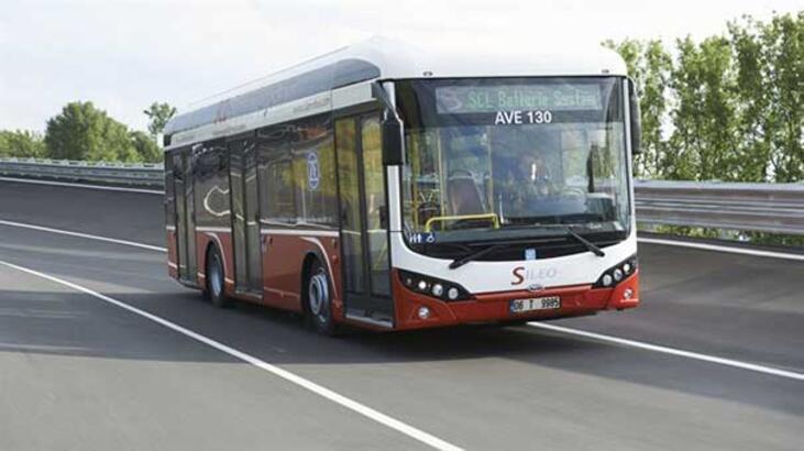 Yerli elektrikli otobüs Avrupa'da görücüye çıktı