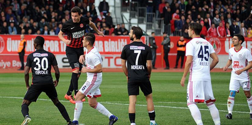 Ümraniyespor-Altınordu: 2-0