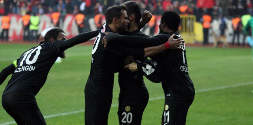 Eskişehirspor: 1 - Çaykur Rizespor: 1