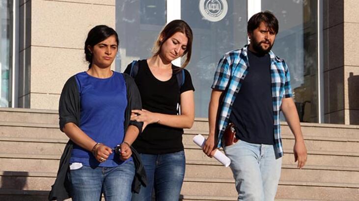 Van'da gözaltına alınan hemşire Neriman Keskin tutuklandı