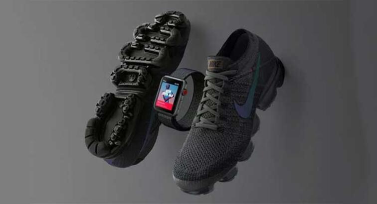 Nike'dan sınırlı sürüm Midnight Fog Apple Watch Series 3