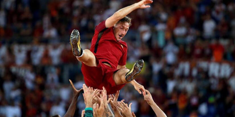 Totti, jübilesinin ardından ilk kez konuştu..