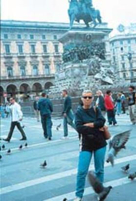Milano'da çılgın eğlence